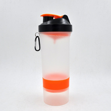 OEM branded protein shake shaker bottle with cap,bpa free protein bottle shaker