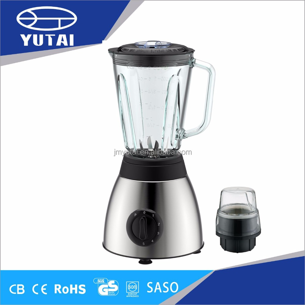 5 Speeds Blender Stainless Steel Housing Smoothie Maker