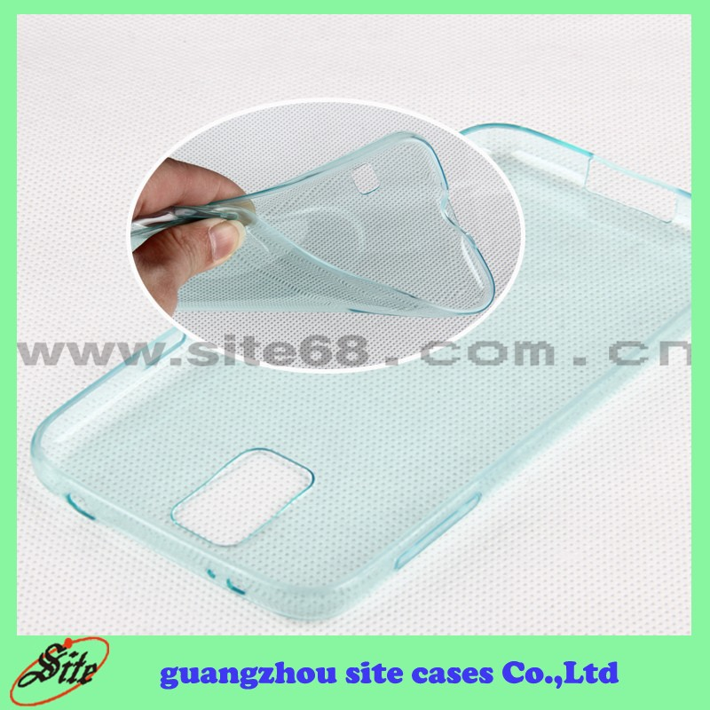 China Wholesale Cell Phone TPU Cover Case for Samsung Galaxy I9600 S5
