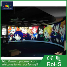XYSCREEN curved aluminum extrusion tv screen