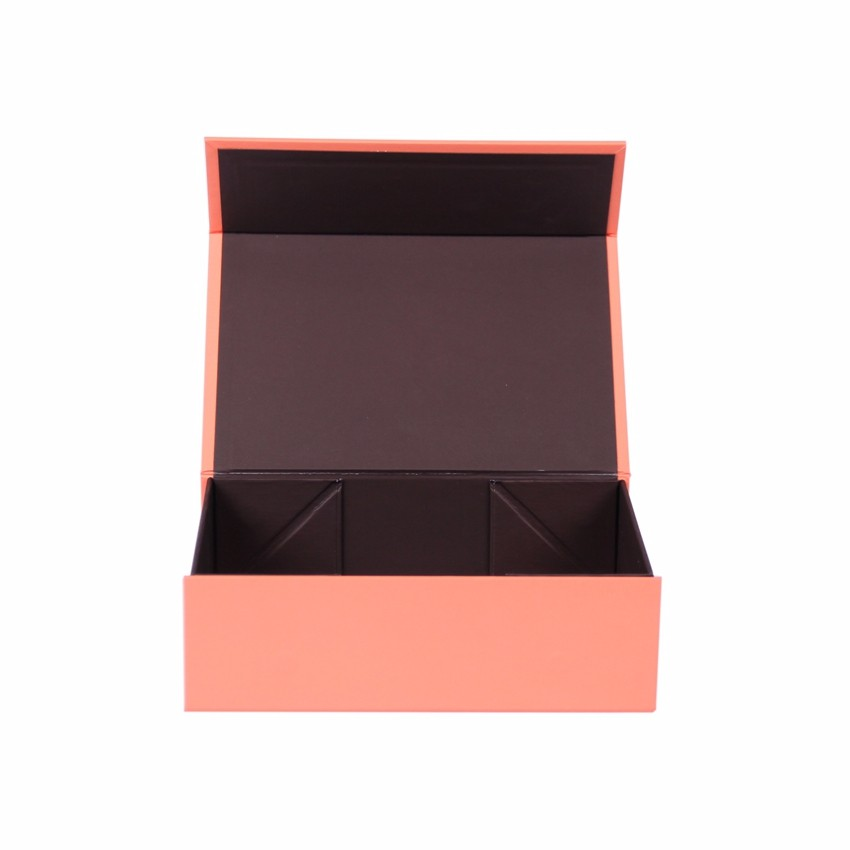 Customized Flip Open Cardboard Gift Boxes Luxury Paper Case