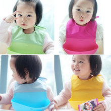Hot Baby Bibs Girl Boy Kid Newborn Waterproof Silicone Bandana Bib Saliva Towel Scarf Bib