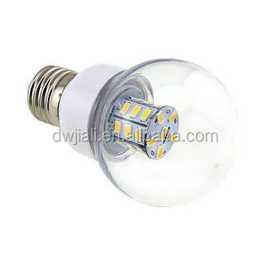 b22 led lamp bulb E26E27 4 W 27 SMD 5730 500 LM Warm White G Globe Bulbs DC 12AC 12AC 24DC 24 V