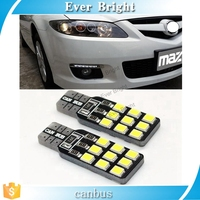 Super Bright!! T10 W5W T10 194 168 2835 18SMD Canbus NO ERROR 12V Car Auto Bulbs Indicator Light Parking Lamps White