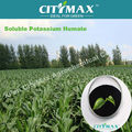 Soluble leonardite humic potash fertilizer with fulvic acid