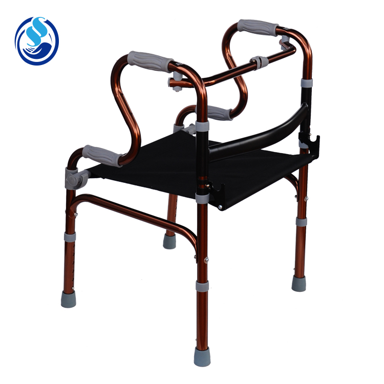 Lightweight old people orthopedic different types of walker , stair climbing standing walker for elderly