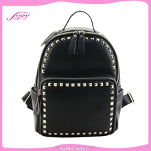 The most popular selling pu backpack european school backpack