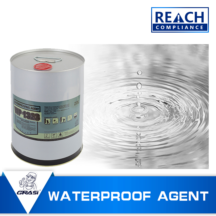 WP1323 2016 concrete Outdoor/indoor wall waterproofing coating salt water resistant