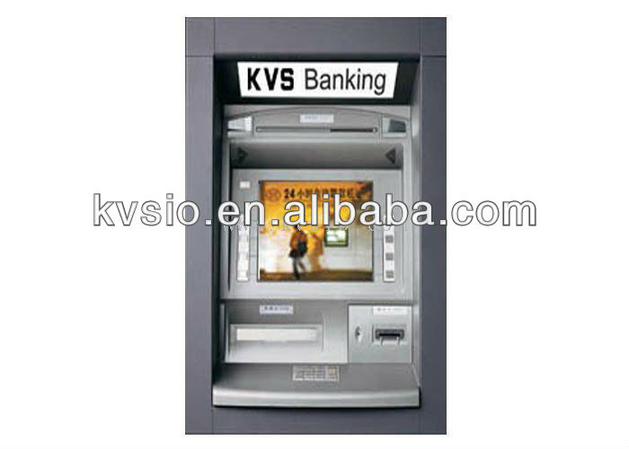 Multifunctional ATM of Digital Bank Loby Self Service Foreign Currency Exchange Kiosk