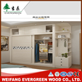 wooden double color wardrobe design furniture bedroom from China