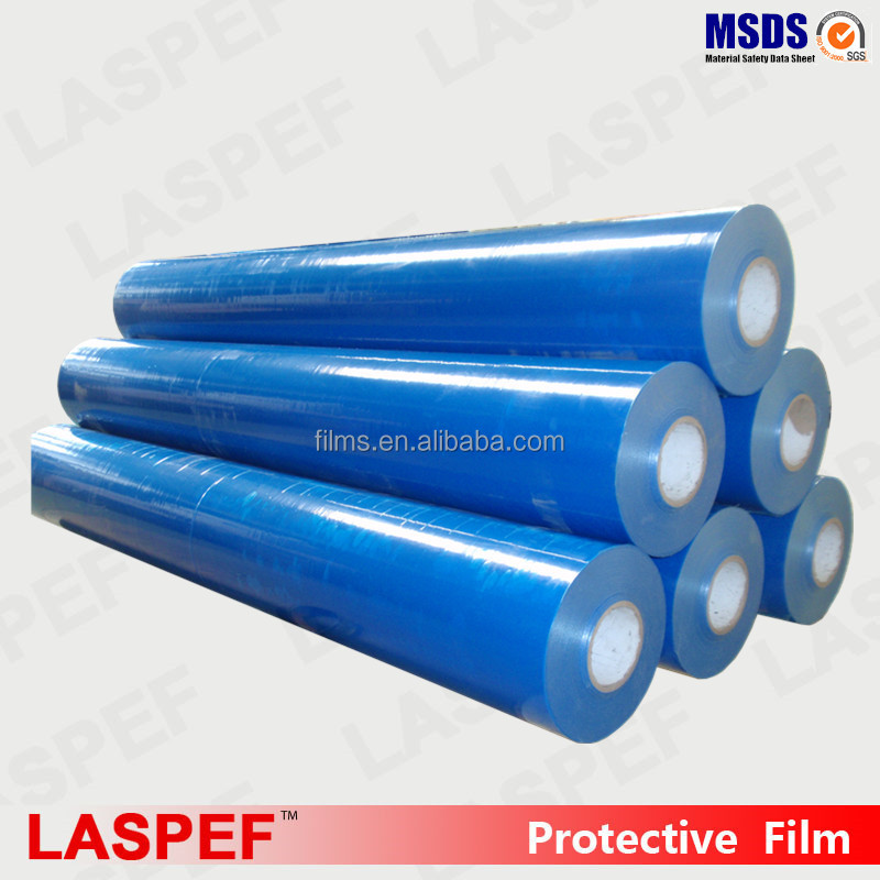 Blue film english, english blue protection film, ldpe protection film