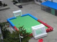 inflatable soap soccer/football court/field