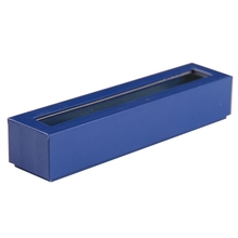 Personalised rectangular bracelet jewelry boxes with clear window