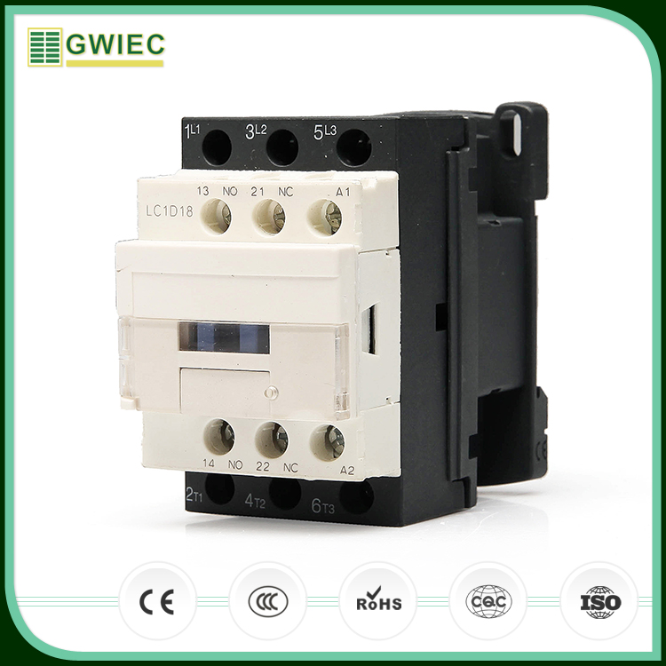 GWIEC Quality Products 3 Phase AC Types Magnetic Cjx2-1210 Ac Contactor 380V