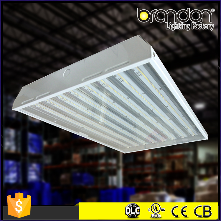 120W UL DLC Suspended Industrial light Linear fixtures High Bay Led Lighting