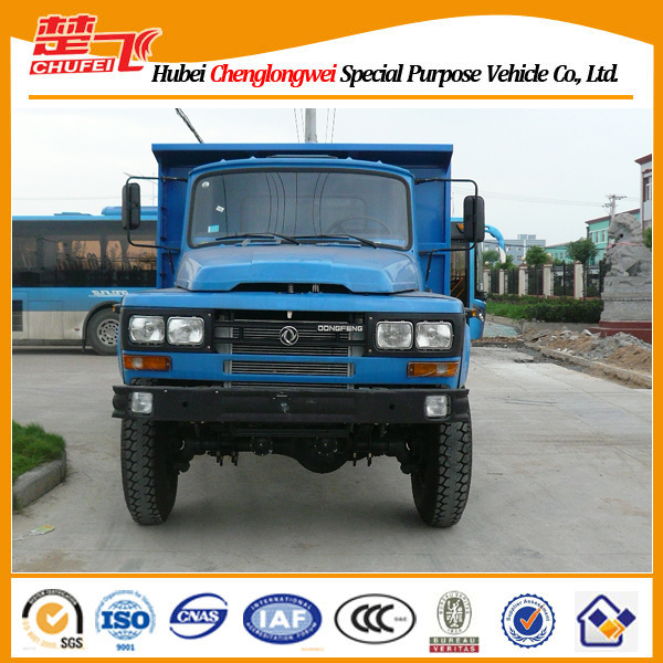 Small dump truck Dongfeng Euro 2 or 3 sand tipper 180hp 4X2 right /left hand drive