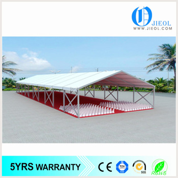 Custom aluminum waterproof big warehouse tent for storage