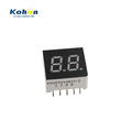 Small size 7 segment LED digital screen 0.30 inch common anode ultra blue 2 digits led display