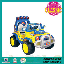 Plastic material toy jeep for kids to drive,Battery operated ride on toy jeep for kids