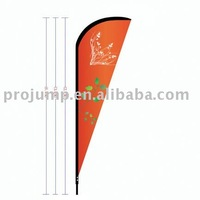 2011 Portable flying beach banner to Christian and Muslim (PB046)