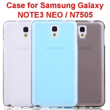 Ultra Slim Pudding Transparent Soft Phone Cases for Samsung Galaxy Note 3 Neo N7505 ,Silicon Cell Phone Case for Note 3 Neo