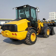 small 4x4 wheel loader 2 ton lift capacity loader for sale