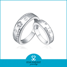 925 sterling silver wedding rings platinum
