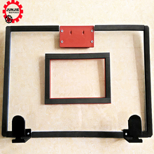 wholesale mini basketball hoop with breakaway ring spring, PC backboard