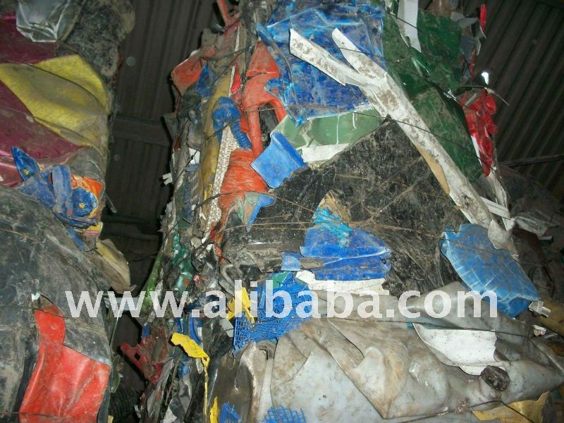 Mixed rigid plastics for Recycling