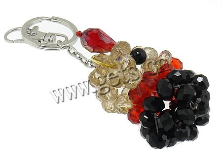 Animal handmade beaded crystal keychain