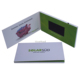 4.3 inch invitation lcd video greeting card/video booklet/lcd video book