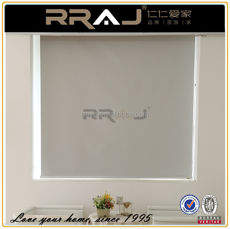 Automatic or Auto Window Roller Shade and Blackout Window Cover