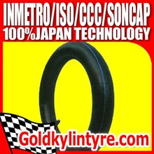 Top Quality 3.00-18 Natural rubber Motorcycle Inner Tubes