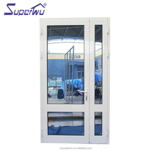 China factory manufacture double glass panel frosted glass interior french casement pantry doors