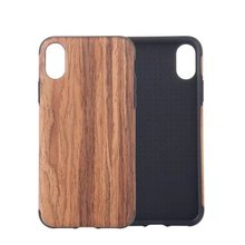wood line phone case cover, soft silicone case mobile phone cover for iphone 8 case