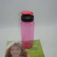 china wholesale tritan water bottle sport bottle with logo black plastic bottles