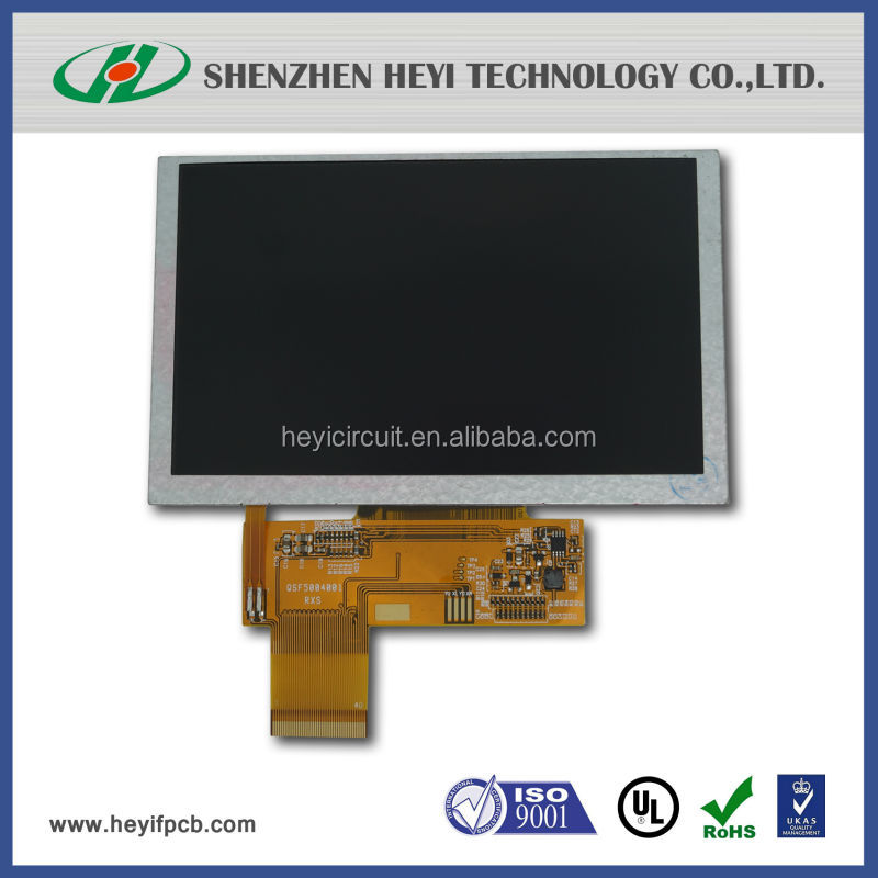 mipi dsi interface lcd display 5 inch transparent lcd panel
