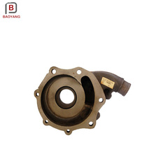 grey ductile iron casting and machining water pump body housing