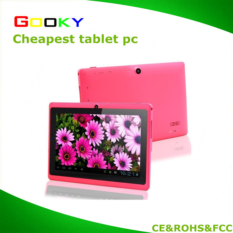 Q88 7'' Quad Core Google Android 4.4 Tablet PC MID, Capacitive Multi-touch Screen, 8GB Nand Flash, Google Play Pre