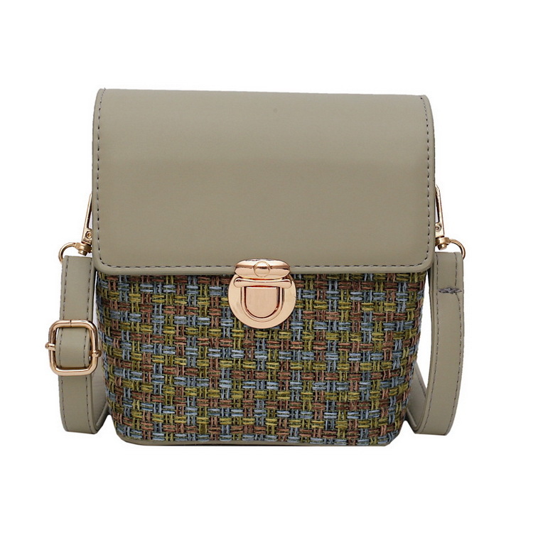 Small lady <strong>Bag</strong> Straw Woven Womens Shoulder Messenger <strong>bag</strong> Cross Body <strong>Bag</strong>