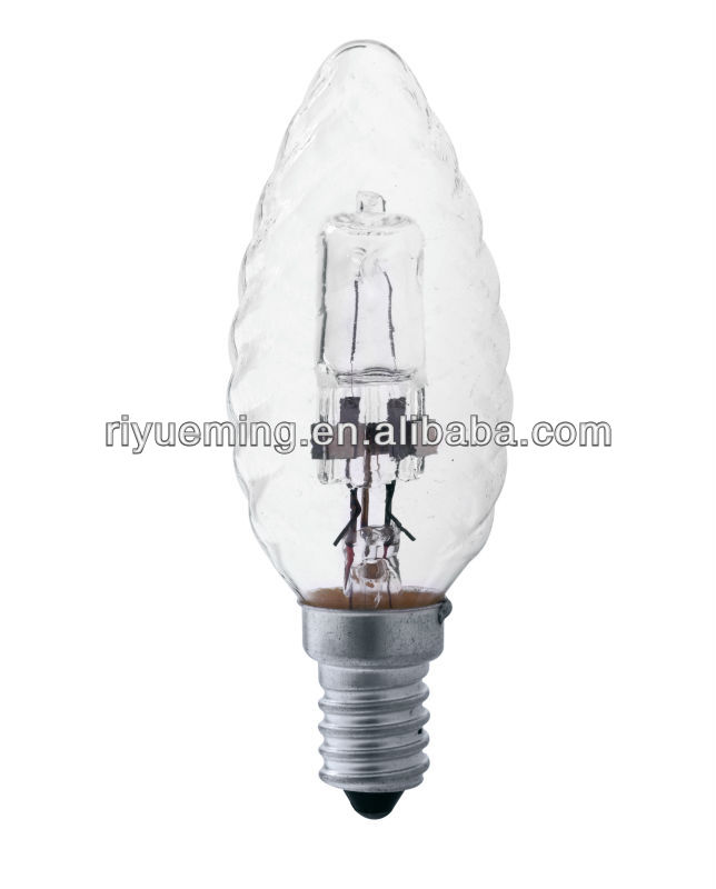 Big sale E14 175-250V C35S halogen lamp lighting rohs/ce dimmable lights bulb