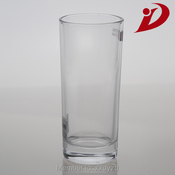 New clear long glass tealight cups