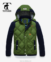 2016 apparel High Quality clothing manufacturers slimming christmas brand feather down jacket & overcoat for men
