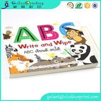 High quality children sound book & reading pen children book shelf coloring book children