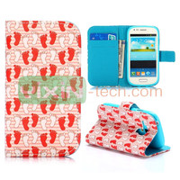 for Samsung I8190 Galaxy S3 mini Flip Leather Case,for Galaxy S3 leather Cover Case,Case for I8190 cover