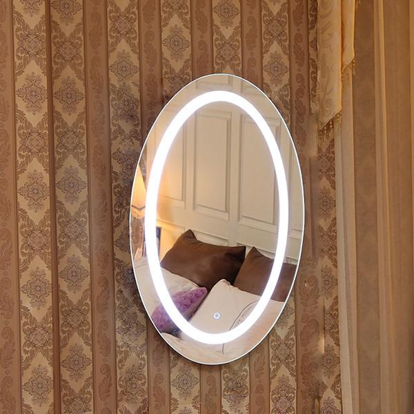 Rustique et occidental salle de bains lighted high sans for Miroir western