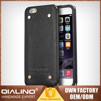 Brand New Top Quality First Layer Leather Wholesale Cell Phone Case For Iphone 6