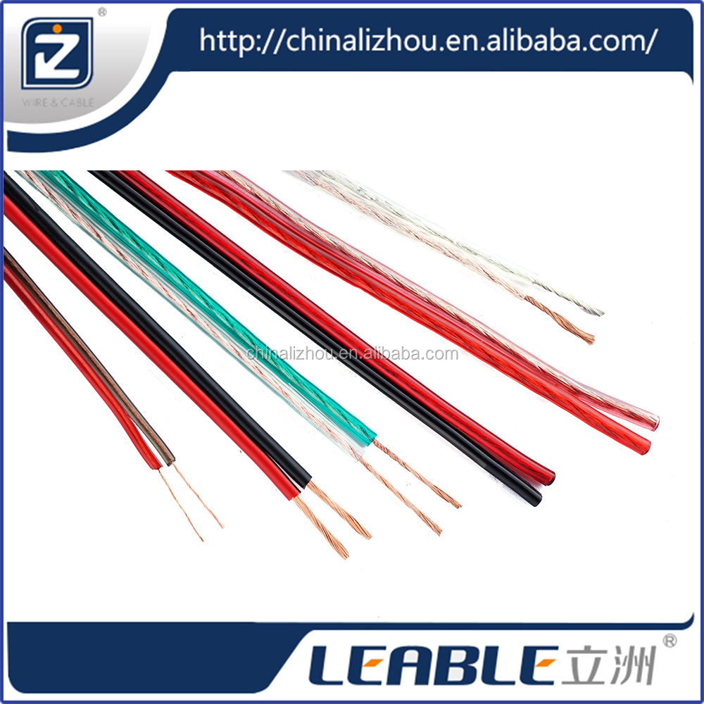 Wholesale transparent speaker cable,no extenal power speaker cable