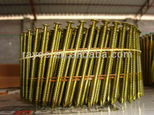 Vinyl Coated Steel Coiled Common Nails