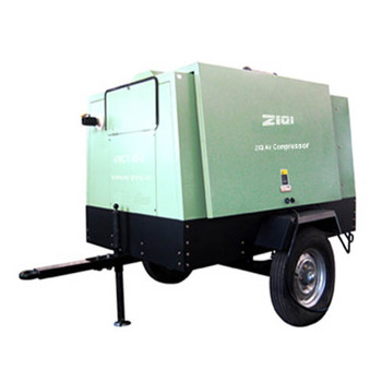 energy saving portable diesel air screw compressor for industry